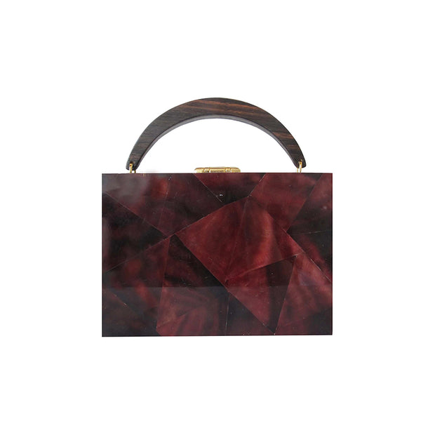 Lunch Box Clutch - Red | Anasastasia Vitkina Design | Anastasiavitkina.com