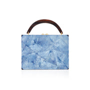 Lunch Box Clutch - Blue | Anasastasia Vitkina Design | Anastasiavitkina.com