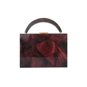 Lunch Box Clutch - Bordo | Anasastasia Vitkina Design | Anastasiavitkina.com