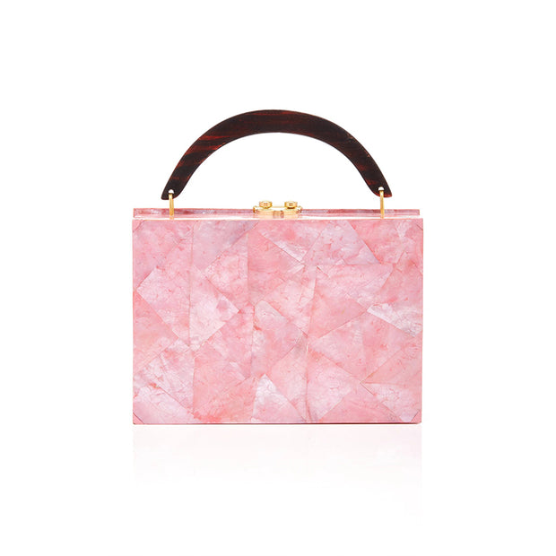 Lunch Box Clutch - Pink | Anasastasia Vitkina Design | Anastasiavitkina.com