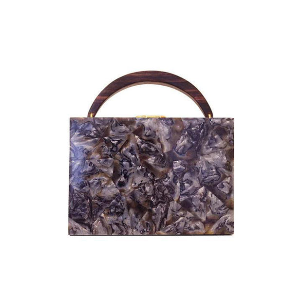 Lunch Box Clutch - Agate | Anasastasia Vitkina Design | Anastasiavitkina.com
