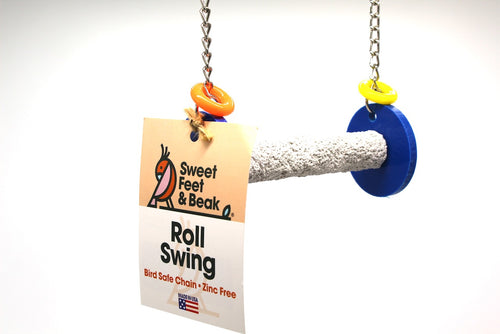 Roll Swing - X-Small - Sweet Feet & Beak