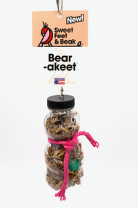 Bear-akeet™ - Sweet Feet & Beak