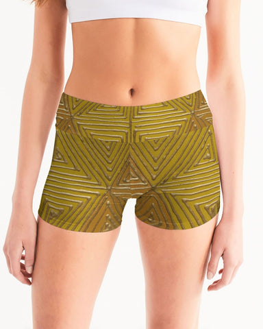 SoL Shine Mid-Rise Yoga Shorts