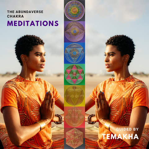 The Abundaverse Chakra Meditations CD