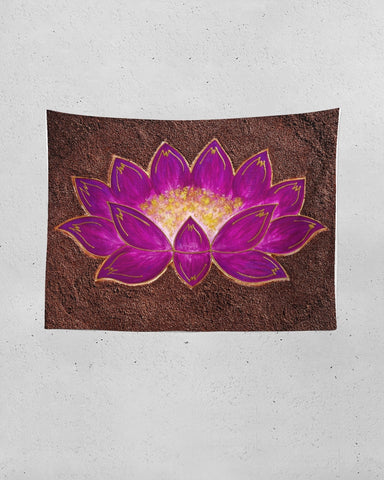 The Mud Flower Tapestry (80x60)