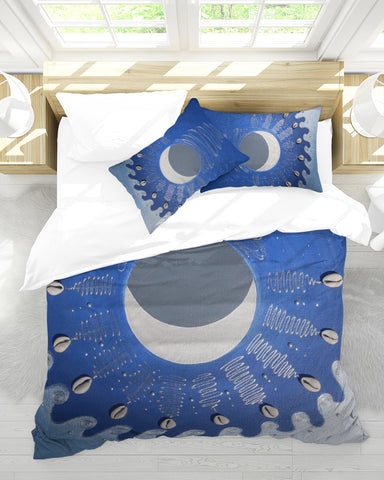 The Divine Current Queen Duvet Cover Set