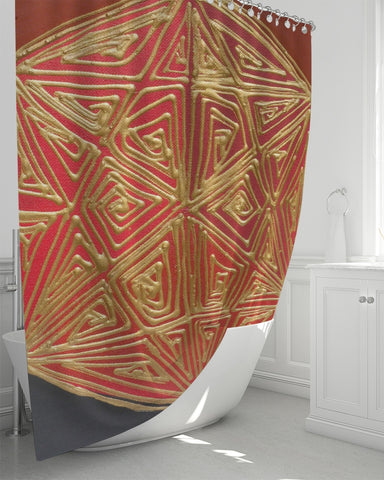 "Be Rooted Shower Curtain 72""x72"""