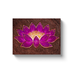 The Mud Flower Canvas Wrap