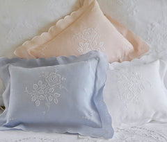 Sweet Pea Pillow Sham - Boudoir