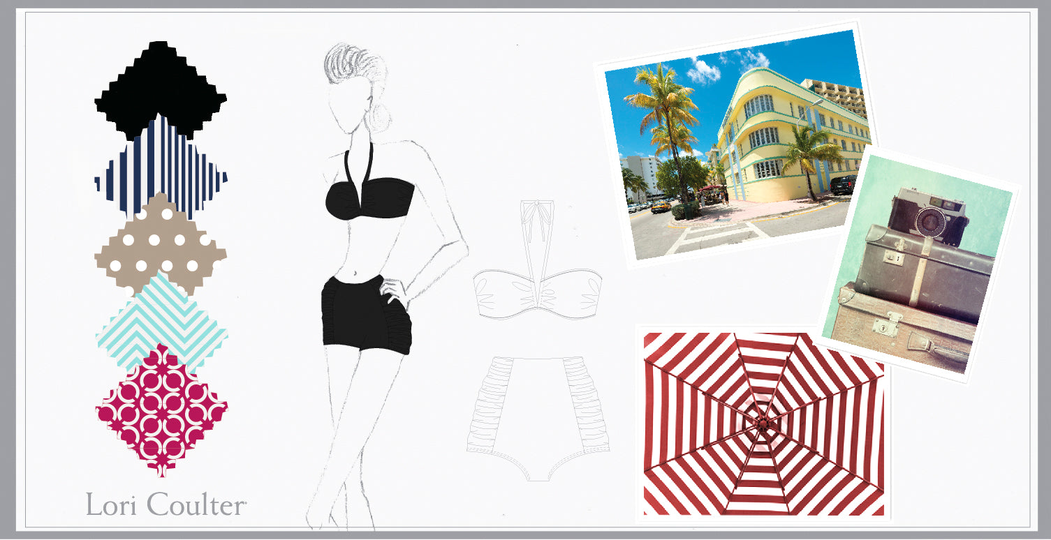 Lori Coulter Private Label Retro Mood Board