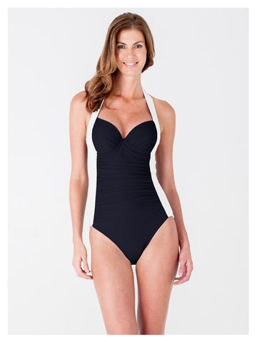 The Elouise Color Block Molded Cup One-Piece