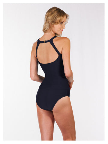 The Dahlia Illusion Neckline Tankini