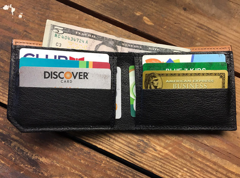 Leaves - Spectrum Leather Wallet