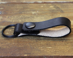 Black Loop Keychain