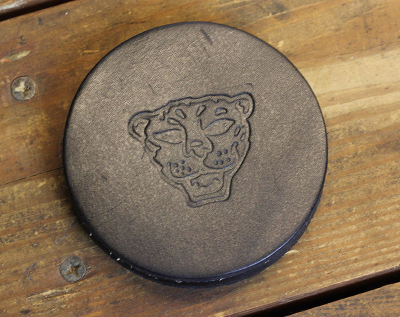 Brown Cat Coasters (Set of Four)