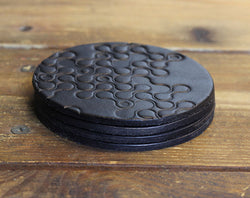 Black Chain Coasters