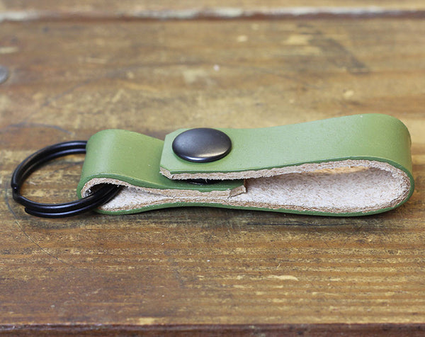 Green Loop Keychain