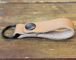 Raw Loop Keychain