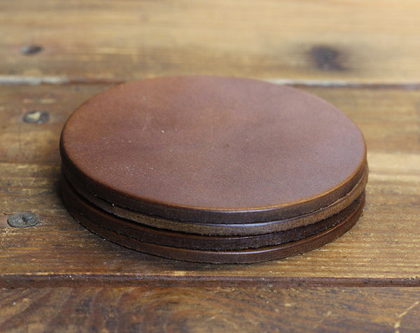 Brown Blank Coasters (Set of Four)