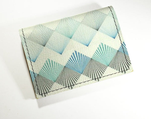Blue Fans - Vinyl Mini wallet Wholesale