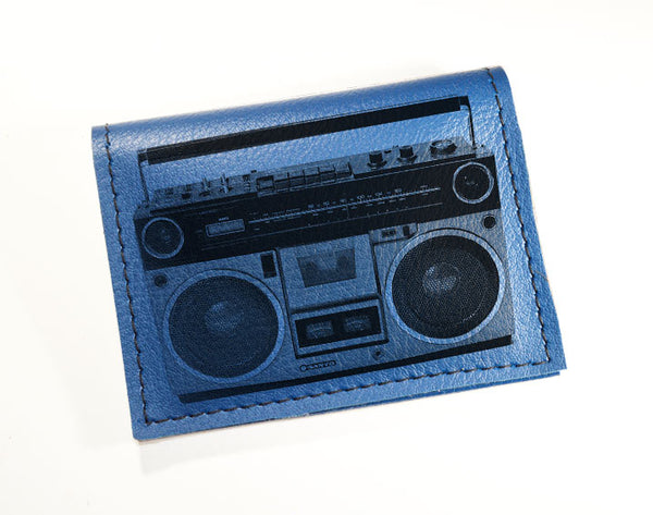 Boom Box - Vinyl Mini wallet Wholesale
