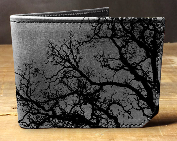 Barren Tree - Printmaker Leather Wallet