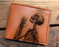 Skeleton Pray - Minimal Bifold Printmaker Wholesale