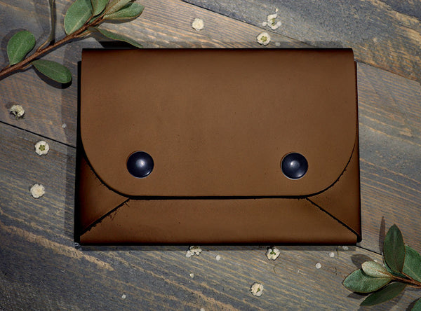 Brown - Midi Travel Wallet