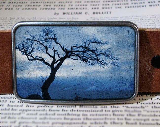 Blue Tree - Belt Buckle Wholesale
