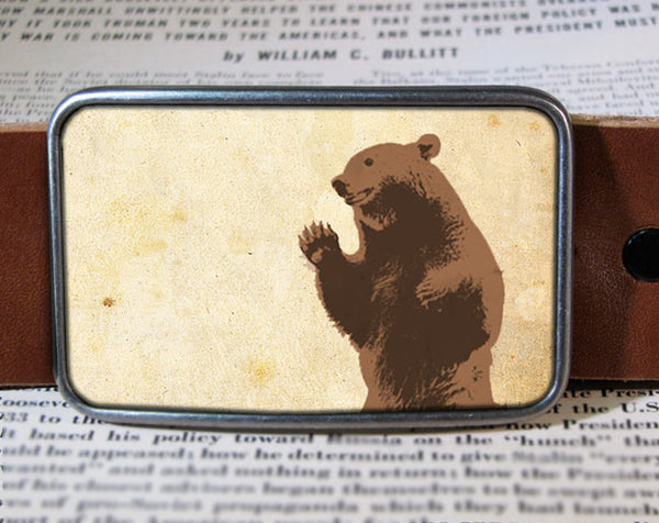 Bear - Belt Buckle Wholesale