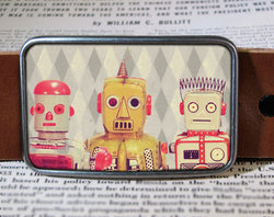 Robots - Belt Buckle Wholesale