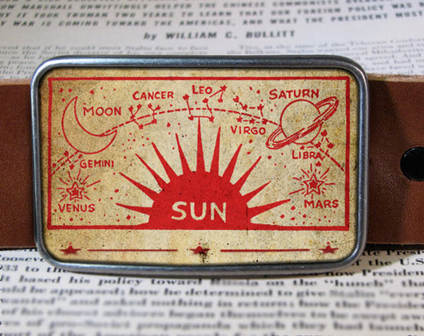 Sun - Belt Buckle Wholesale