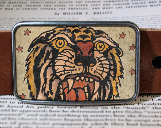 Tiger - Belt Buckle Wholesale