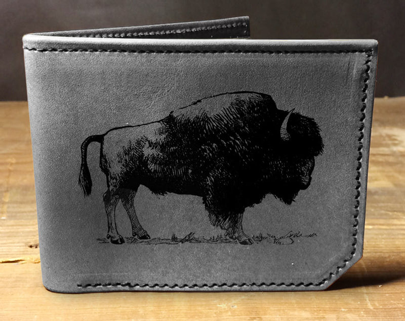Buffalo - Printmaker Leather Wallet