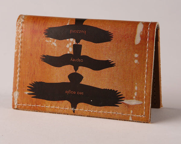 Birds of Prey - Leather Cardholder Wallet Wholesale