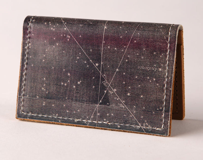Star Map - Leather Cardholder Wallet