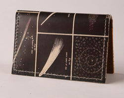 Comets - Leather Cardholder Wallet