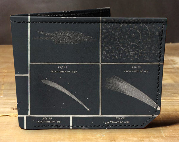 Comets - Spectrum Leather Wallet