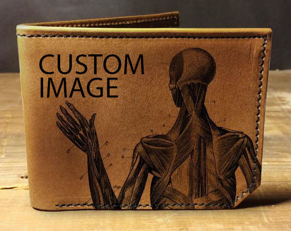 Custom Image Wallet- Leather Wallet