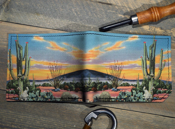 Desert Eve - Spectrum Leather Wallet