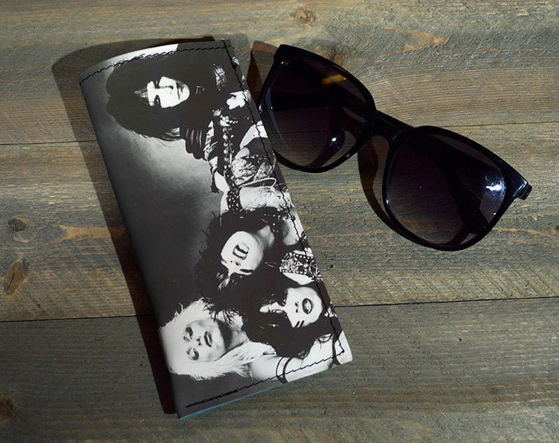 The Crew - Printed Leather Eyeglasses Case Wholesale