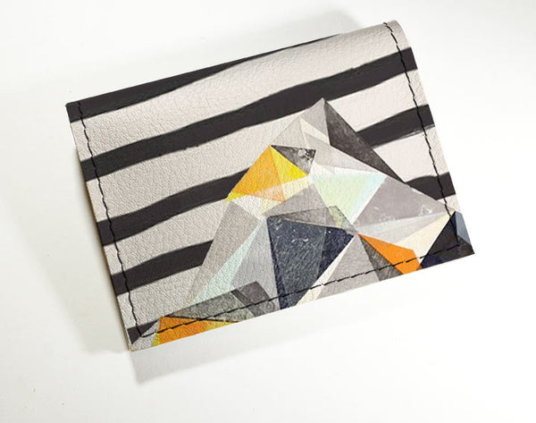 Geo Mountains - Vinyl Mini wallet Wholesale