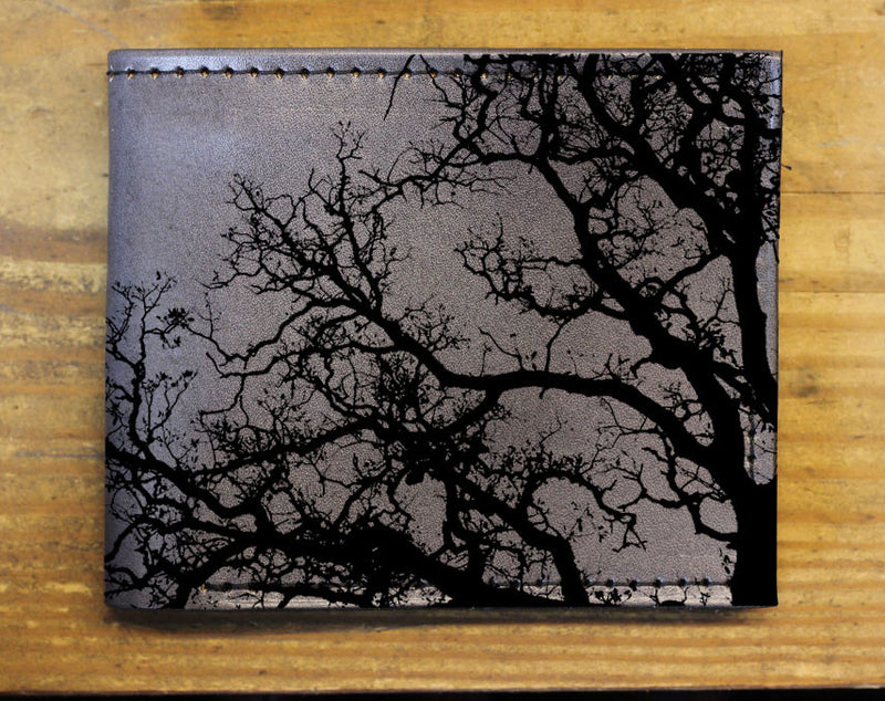 Branches - Minimal Leather Bifold