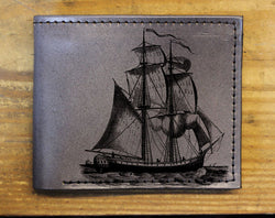 Pirate Ship - Minimal Bifold Printmaker