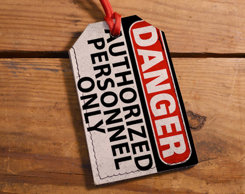 Danger - Luggage Tag Wholesale