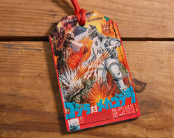 Movie Monster - Leather Luggage Tag