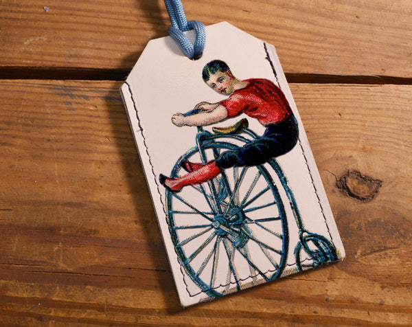 Penny Farthing - Luggage Tag Wholesale