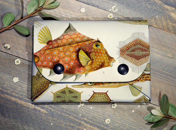 Fishes - Midi Travel Wallet