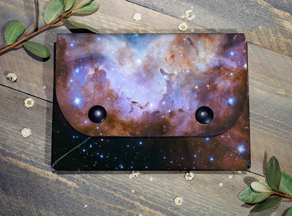 Outer Space - Midi Travel Wallet